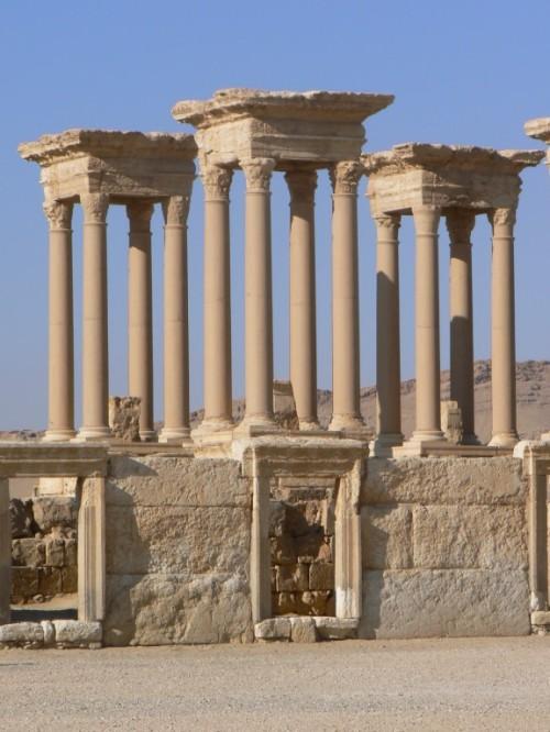 Fotos de Tetrapilón de Palmira - Siria. Foto por martin_javier