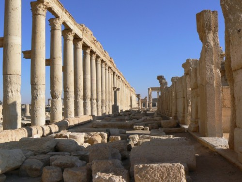 Fotos del Decumano de Palmira - Siria. Foto por martin_javier
