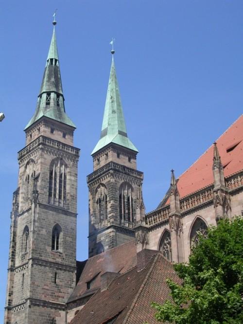Fotos de la Iglesia de San Sebaldo (Sebalduskirche) de Núremberg - Alemania. Foto por martin_javier