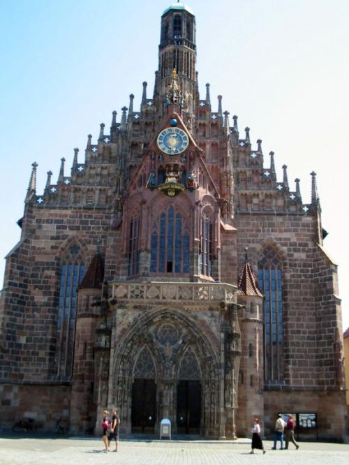 Fotos de la Iglesia de Nuestra Señora (Frauenkirche) de Núremberg - Alemania. Foto por martin_javier
