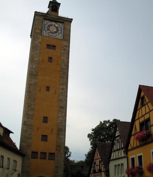 Foto de la Torre del Castillo – Rothenburg od der Tauber (Alemania)