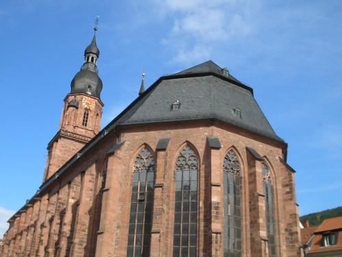 Foto de Heiliggeistkirche, La Iglesia del Espíritu Santo de Heidelberg - Alemania. Foto por martin_javier