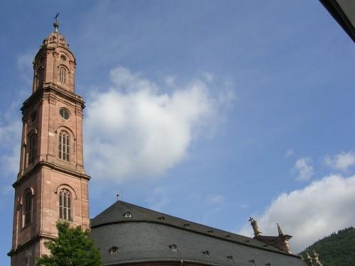 Foto Jesuitenkirche, Iglesia jesuita de Heidelberg - Alemania. Foto por martin_javier