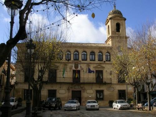 Fotos Plaza Arcipreste de Hita Ayuntamiento de Alcalá la Real - Jaén - España, Foto por martin_javier