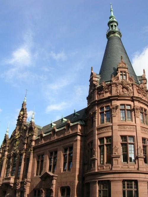 Foto del edificio de la Universidad de Heidelberg - Alemania. Foto por martin_javier