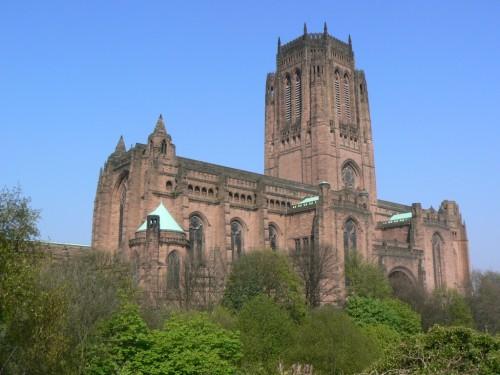 Fotos de la Catedral anglicana de Liverpool – Inglaterra – Reino Unido - Foto por martin_javier