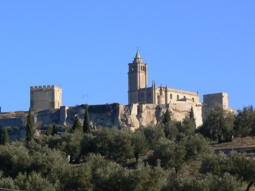 Fortaleza de la Mota de Alcalá la Real. Foto por martin_javier