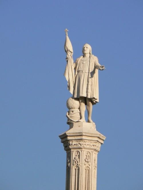 Foto Monumento a Cristóbal Colón en Madrid - España