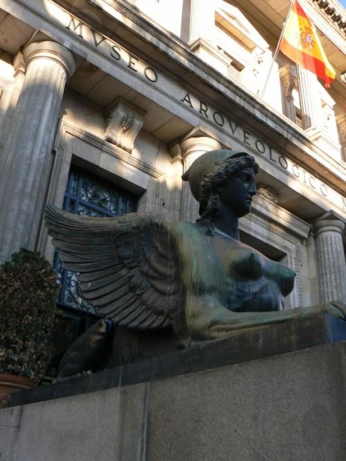 Foto del edificio Museo Arqueológico Nacional de Madrid - España. Foto por martin_javier