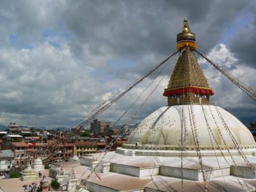 Fotos de la Estupa de Bauddhabath - Valle de Katmandú - Nepal. Foto por martin_javier