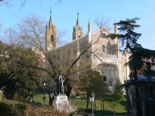 Fotos del monasterio de San Jerónimo el Real de Madrid - España. Foto por martin_javier