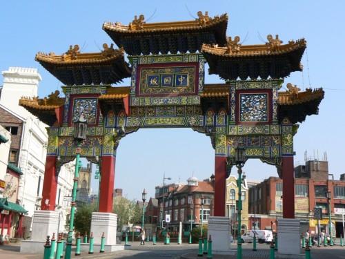 Fotos de la Puerta - Arco de Chinatown de Liverpool - Inglaterra. Foto por martin_javier