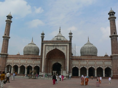 Fotos de Jama Masjid o Mezquita del viernes de Delhi - India
