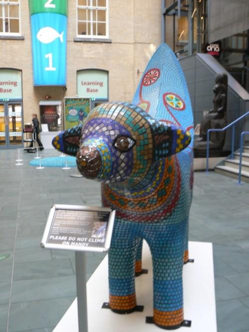 Fotos de Super Lambanana en el Museo del Mundo de Liverpool - Inglaterra. Foto por martin_javier