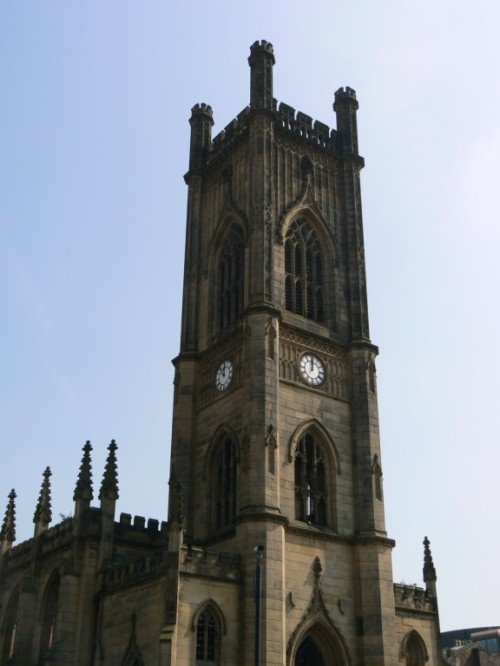 Fotos de la Iglesia de San Lucas de Liverpool - Inglaterra. Foto por martin_javier