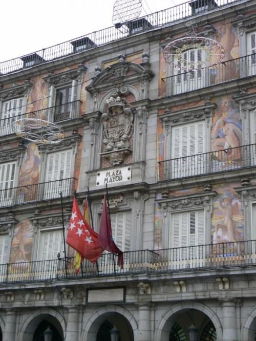 Fotos de la Plaza Mayor de Madrid - España. Foto por martin_javier