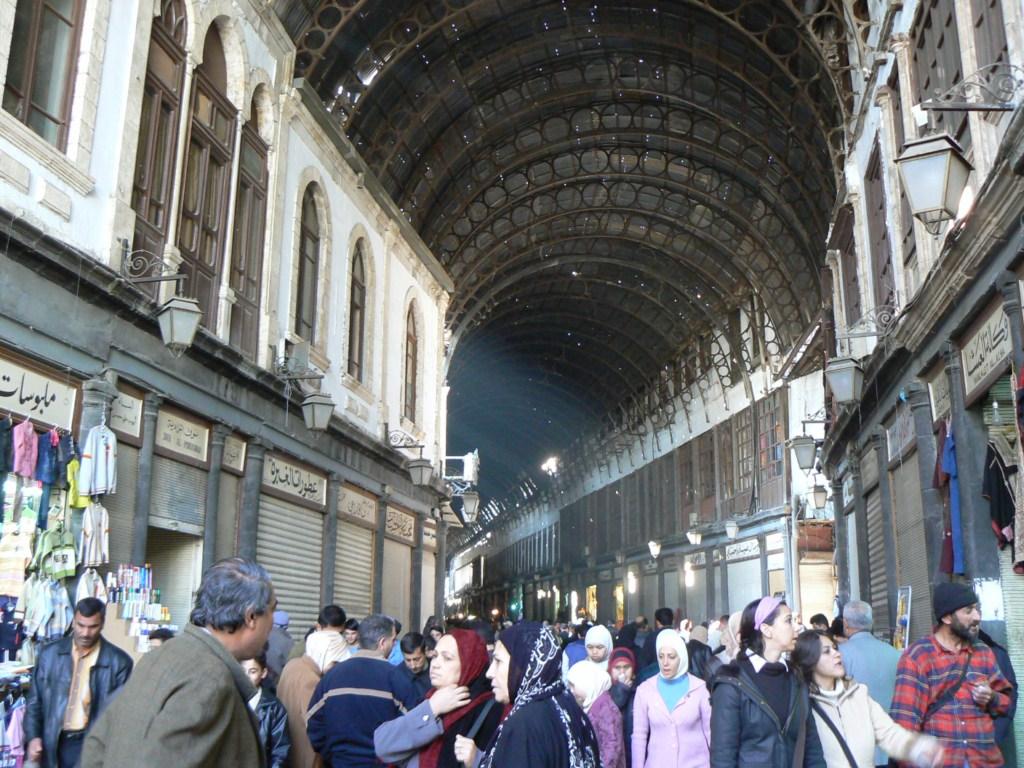 Fotos del zoco el hamidiye de damasco siria fotos de hoy - Fotos de damasco ...