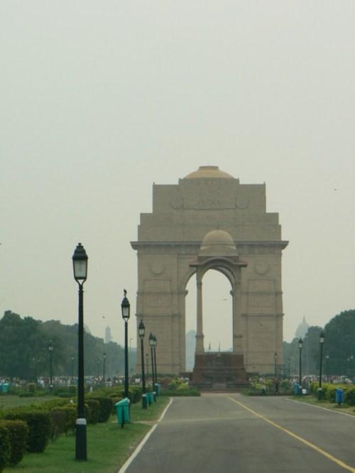Foto de la Puerta de la India en Delhi - India. Foto por martin_javier