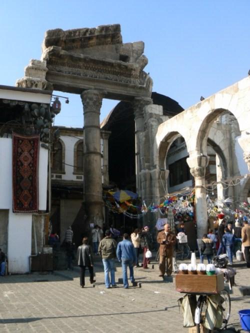 Fotos del Templo de Júpiter de Damasco - Siria. Foto por martin_javier