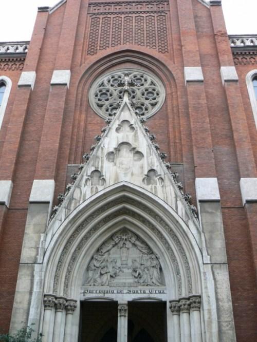 Fotos de la Iglesia de la Santa Cruz de Madrid - España. Foto por martin_javier