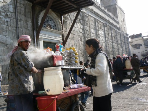 Fotos de vendores de comida en Damasco - Siria. Foto por martin_javier