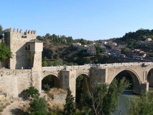 Fotos del Puente de San Martín de Toledo - España. Foto por martin_javier