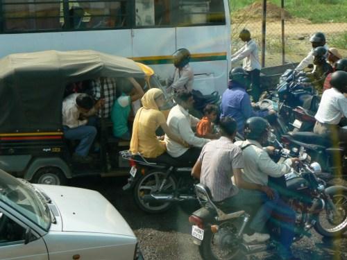 Fotos en la carretera de Delhi a Jaipur - India. Foto por martin_javier