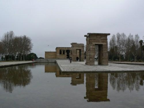 Fotos del Templo de Debod en Madrid - España. Foto por martin_javier