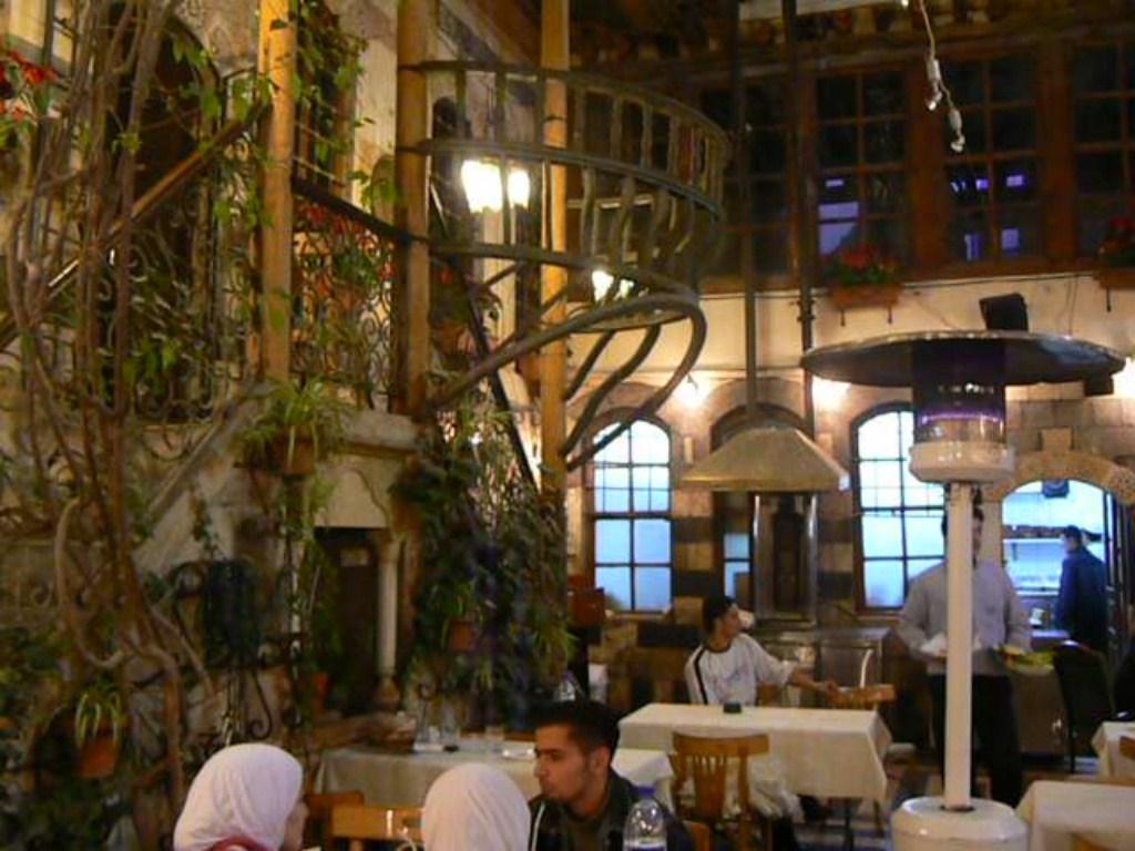 Fotos de casas damasquinas en damasco siria fotos de hoy - Fotos de damasco ...