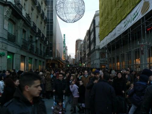 Foto de la Calle de Preciados de Madrid - España. Foto por martin_javier