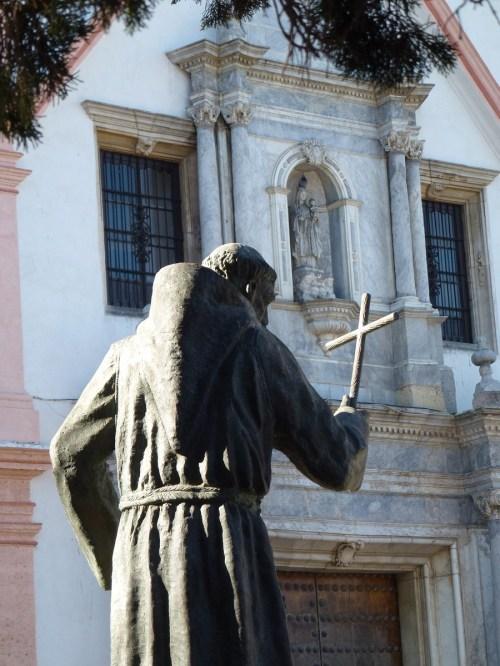 Foto de la estatua al Beato Diego José de Cádiz - España. Foto por martin_javier