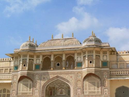 Fotos dela puerta Ganesh Pol del Fuerte Amber - India. Foto por martin_javier