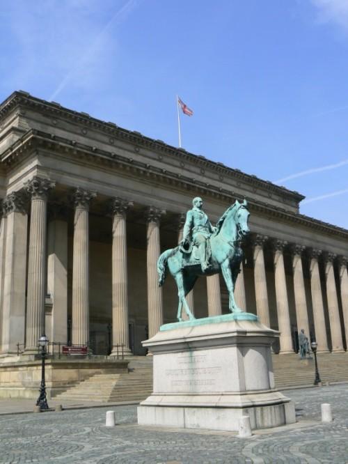 Fotos de estatua ecuestre del Príncipe Albert en Liverpool - Inglaterra - Reino Unido. Foto por martin_javier