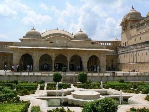 Fotos jardines del Fuerte Amber - India. Foto por martin_javier