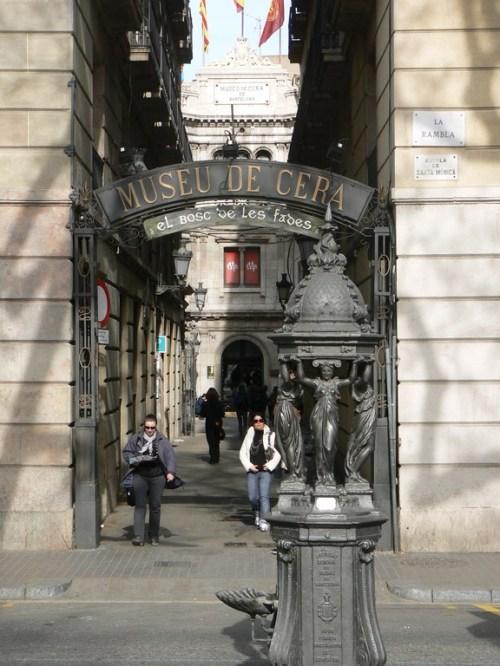 Fotos del Museo de Cera de Barcelona - España