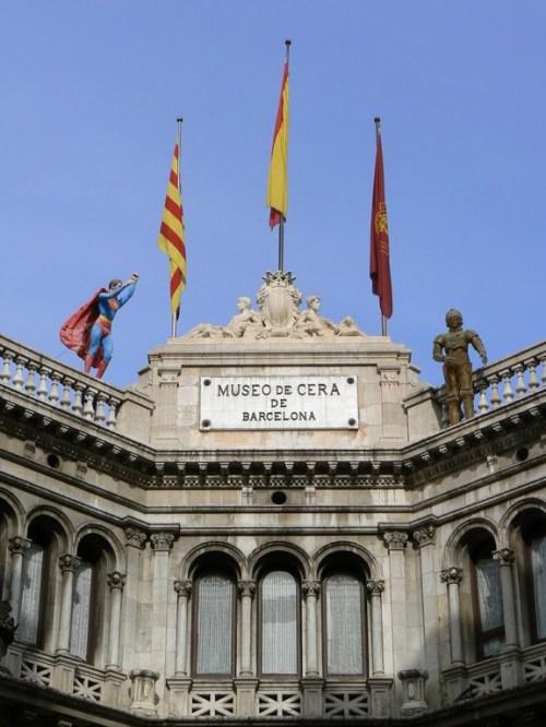 Fotos del Museo de Cera de Barcelona - España. Foto martin_javierf