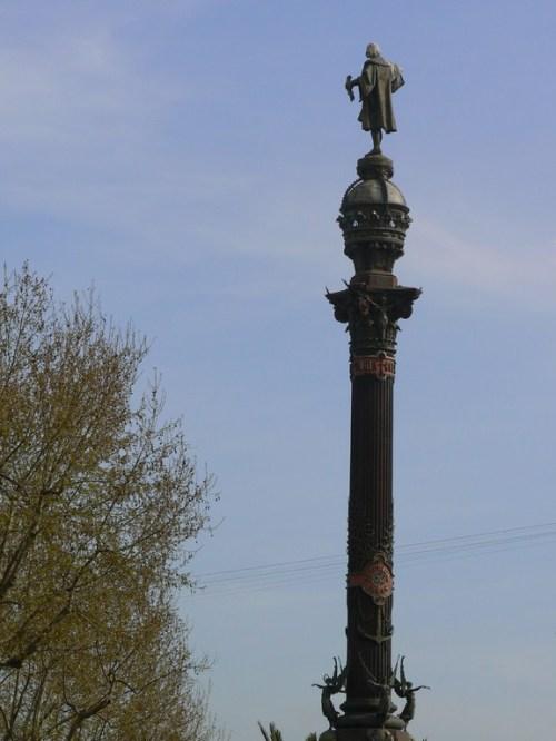 Fotos del Monumento a Colón en Barcelona - España. Foto martin_javier