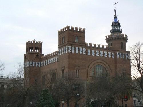 Fotos del Castillo Tres Dragons en Barcelona - España. Foto martin_javier