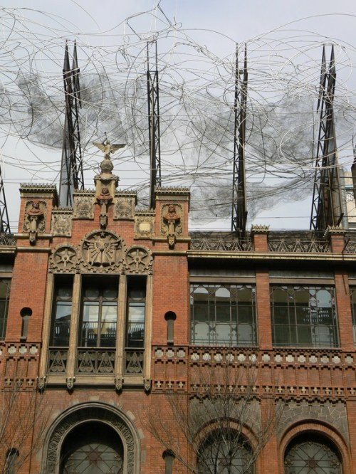 Fotos del Edificio sede de la Fundación Tàpies en Barcelona - España. Foto por martin_javier